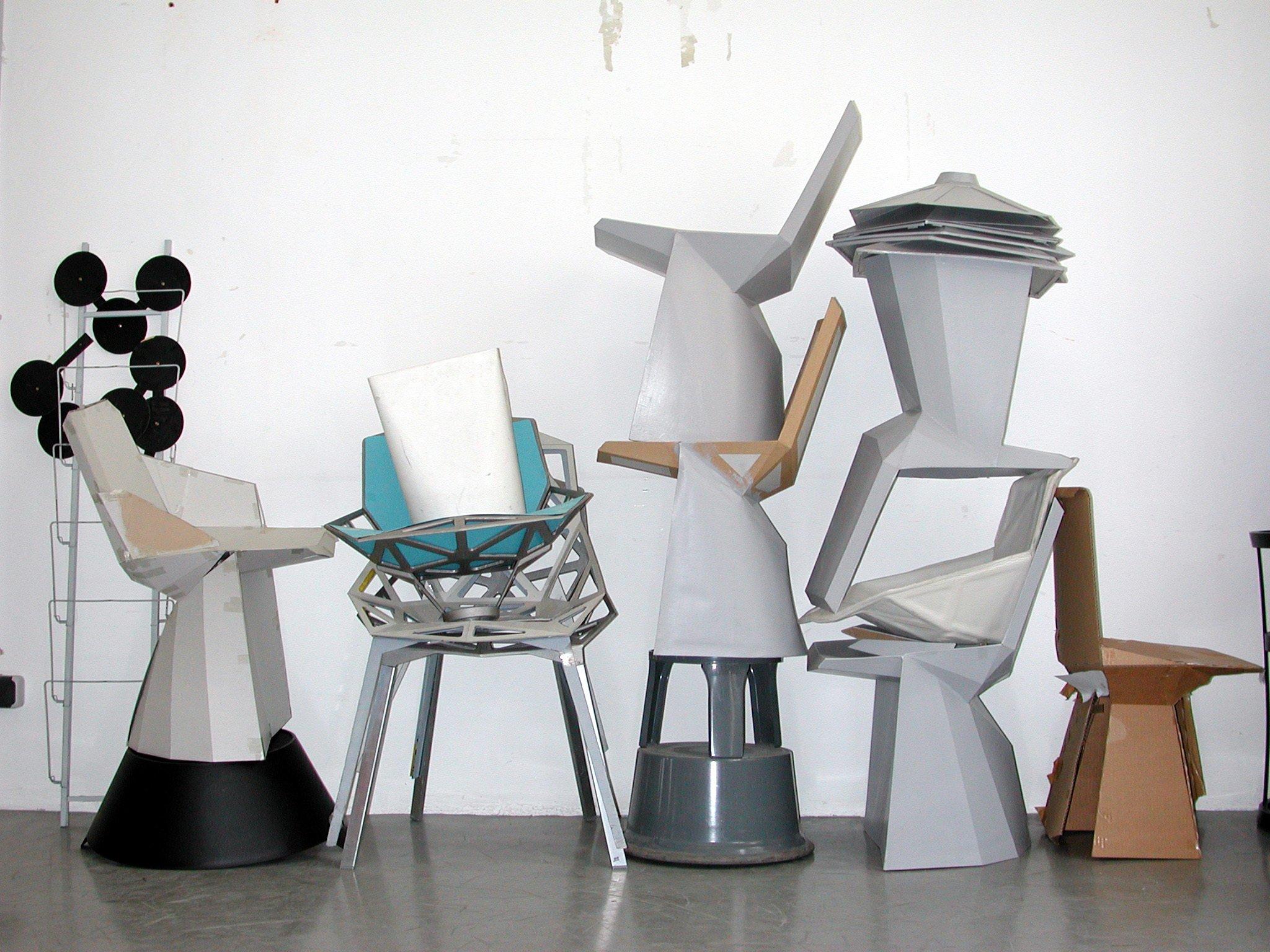 Modelle für Stuhl Mars für ClassiCon, 2003