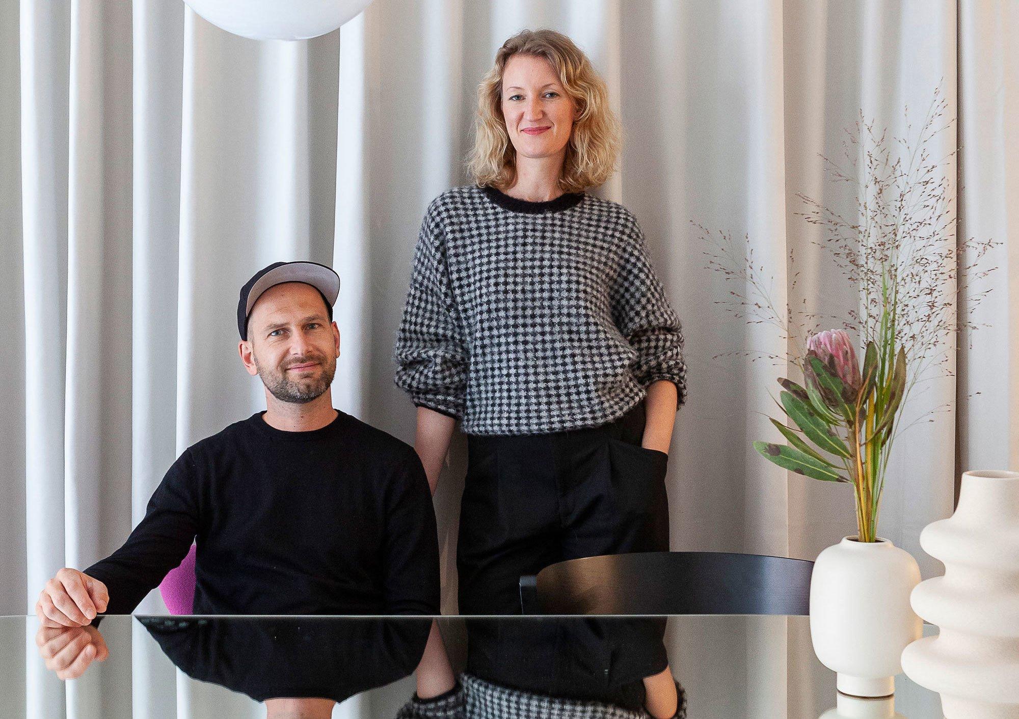 Sina Gwosdzik und Jakob Dannenfeldt kennen sich seit dem Studium und ... Foto/ Copyright: Anne-Catherine Scoffoni