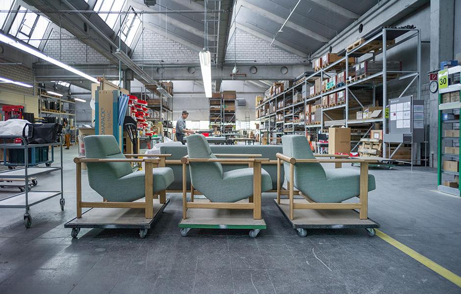 Fertigung von Girsberger Customized Furniture. Foto: Daniel Kuhn