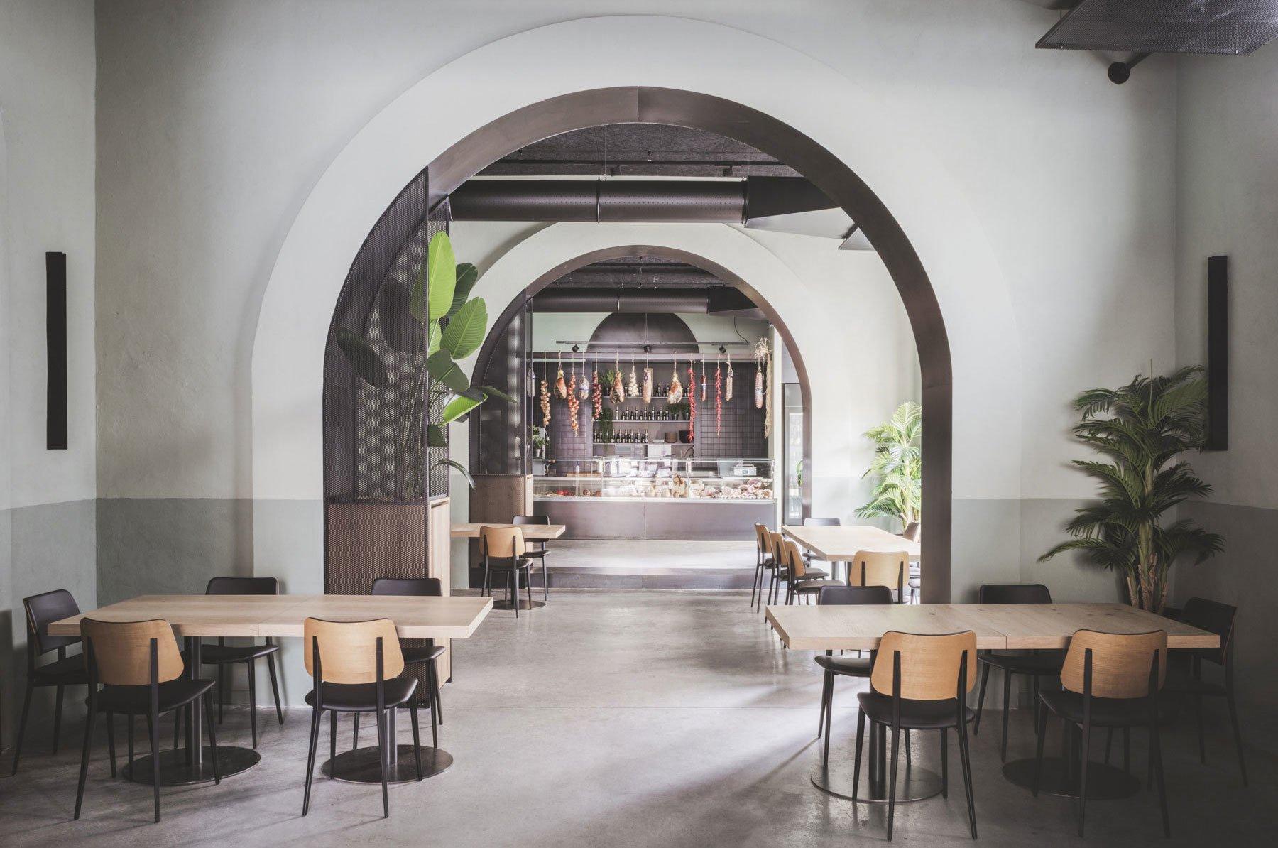 In Palermo hat Studio Didea eine alte Garage in ein Restaurant verwandelt, das sinnbildlich für einen neuen, regional geprägten Minimalismus steht.