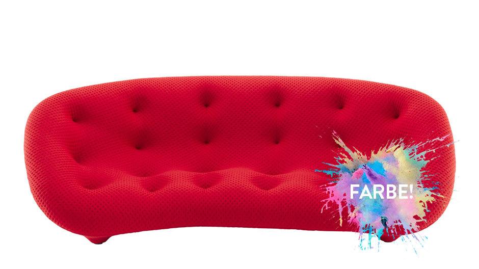 Das Sofa Plume von Ronan und Erwan Bouroullec für den französischen Hersteller Ligne Roset.