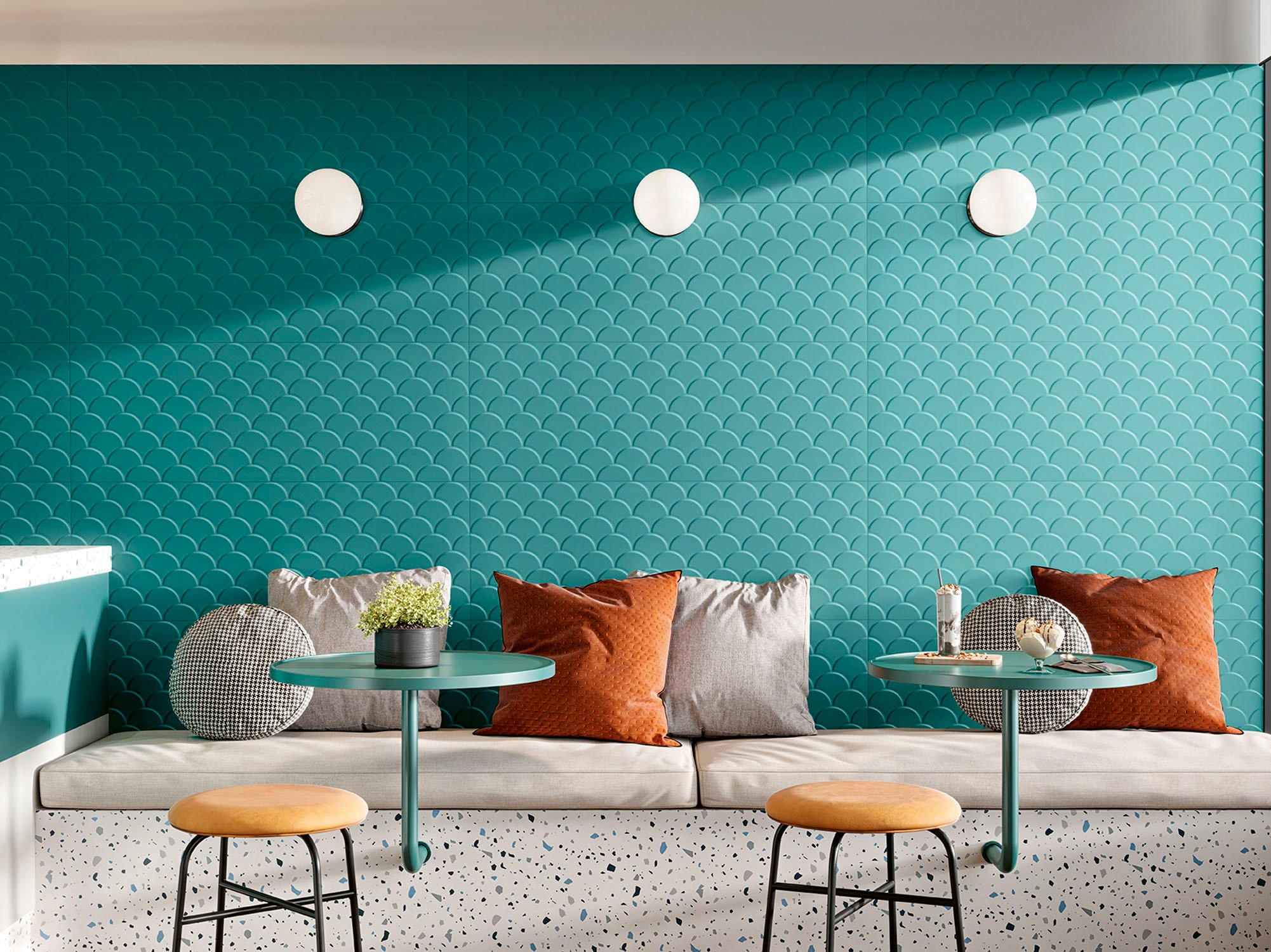 FliesenkollektionGenesis ShellvonLove Tiles. Foto: Love Tiles