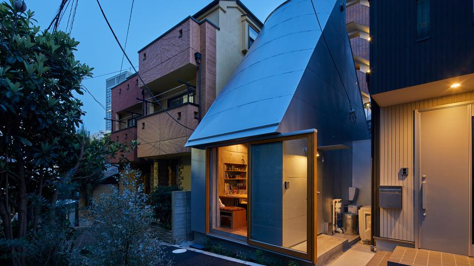 Reduktion auf das Wesentliche: Gerade einmal 18,8 Quadratmeter misst die Wohnfläche des Love2 House von Takeshi Hosaka.