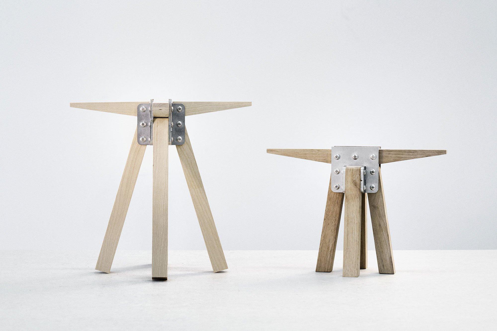 2020 entwickelte Lukas Wegwerth Three+One weiter, um Holzkomponenten einbauen zu können. Foto: Studio Lukas Wegwerth