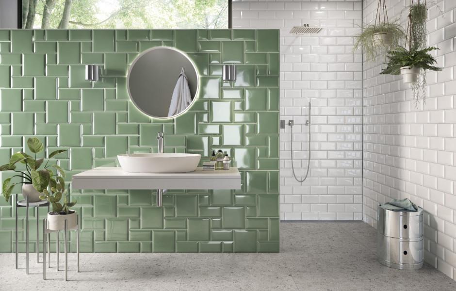 Die vielfältige Auswahl an Farben und Mustern bei Wand- und Bodenfliesen, wie von Villeroy & Boch Fliesen, ermöglicht neue Möglichkeiten in der Gestaltung von Wohnzimmer, Schlafzimmer, Bad und Küche.