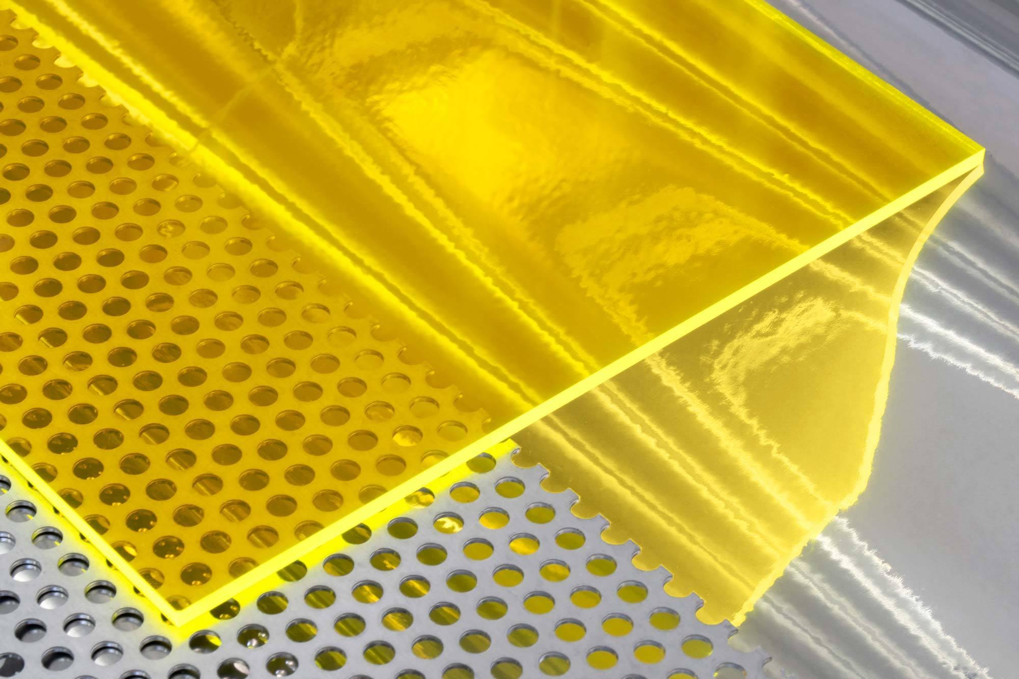 Recyceltes Acrylglas Setacryl. Foto: Studio Alexander Fehre