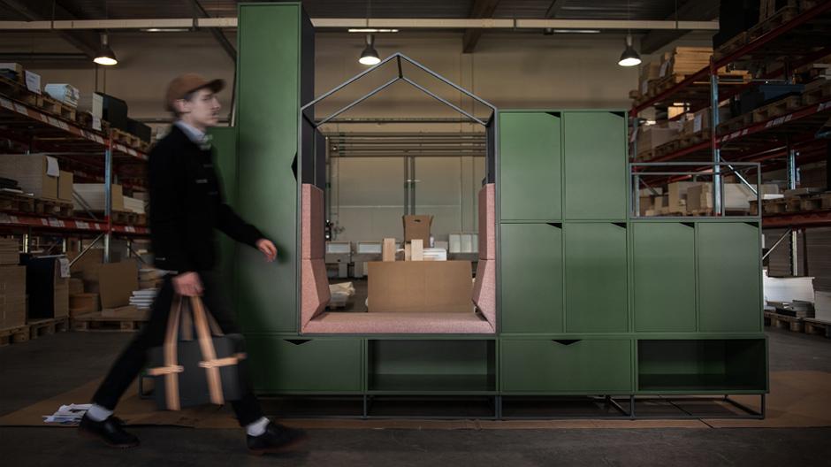 Loungemöbel trifft Aufbewahrung: Cottage von ADDI Design für Mizetto.