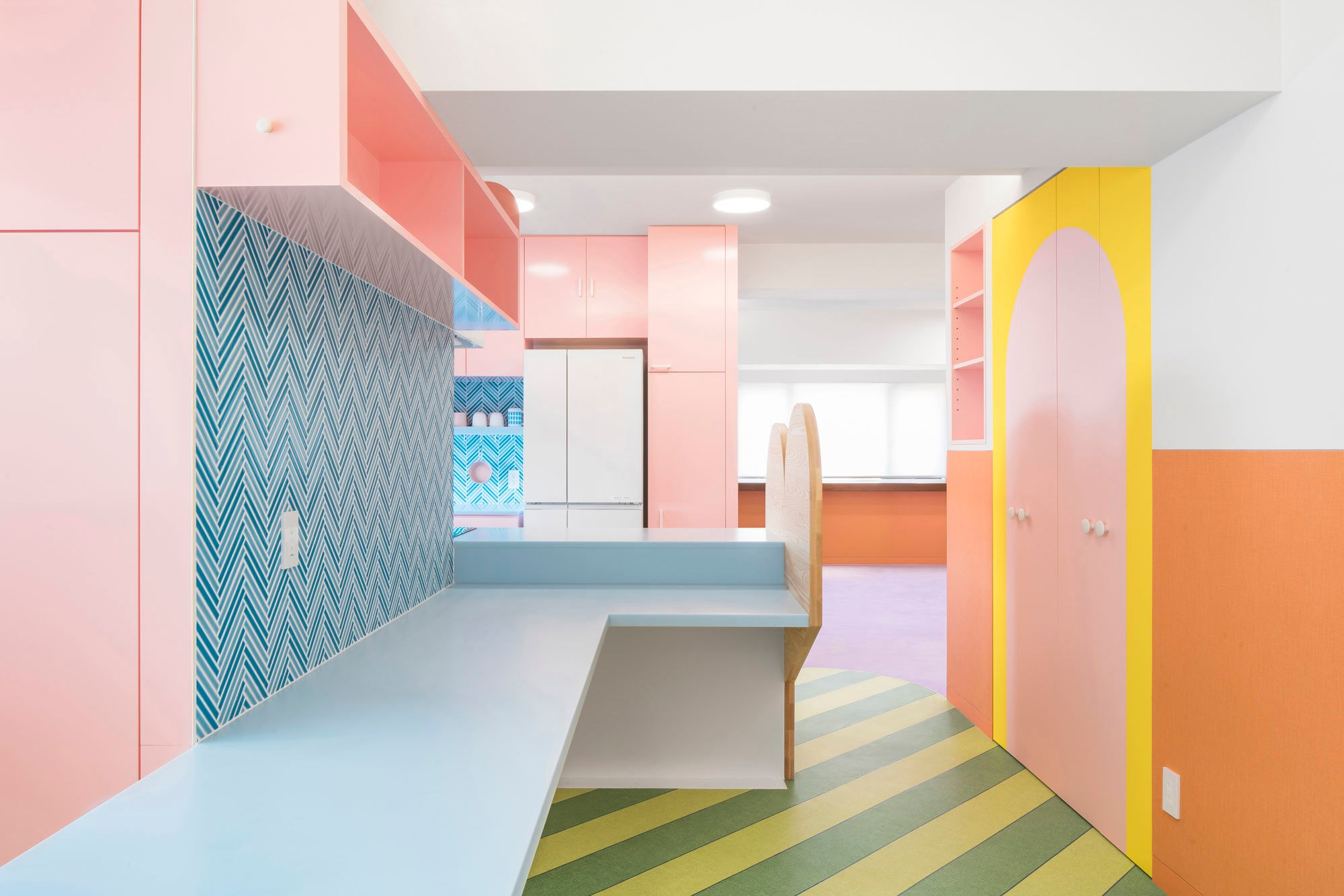 Nagatacho Apartment, Tokio, Adam Nathaniel Furman, 2020, Foto: Jan Vranovsky