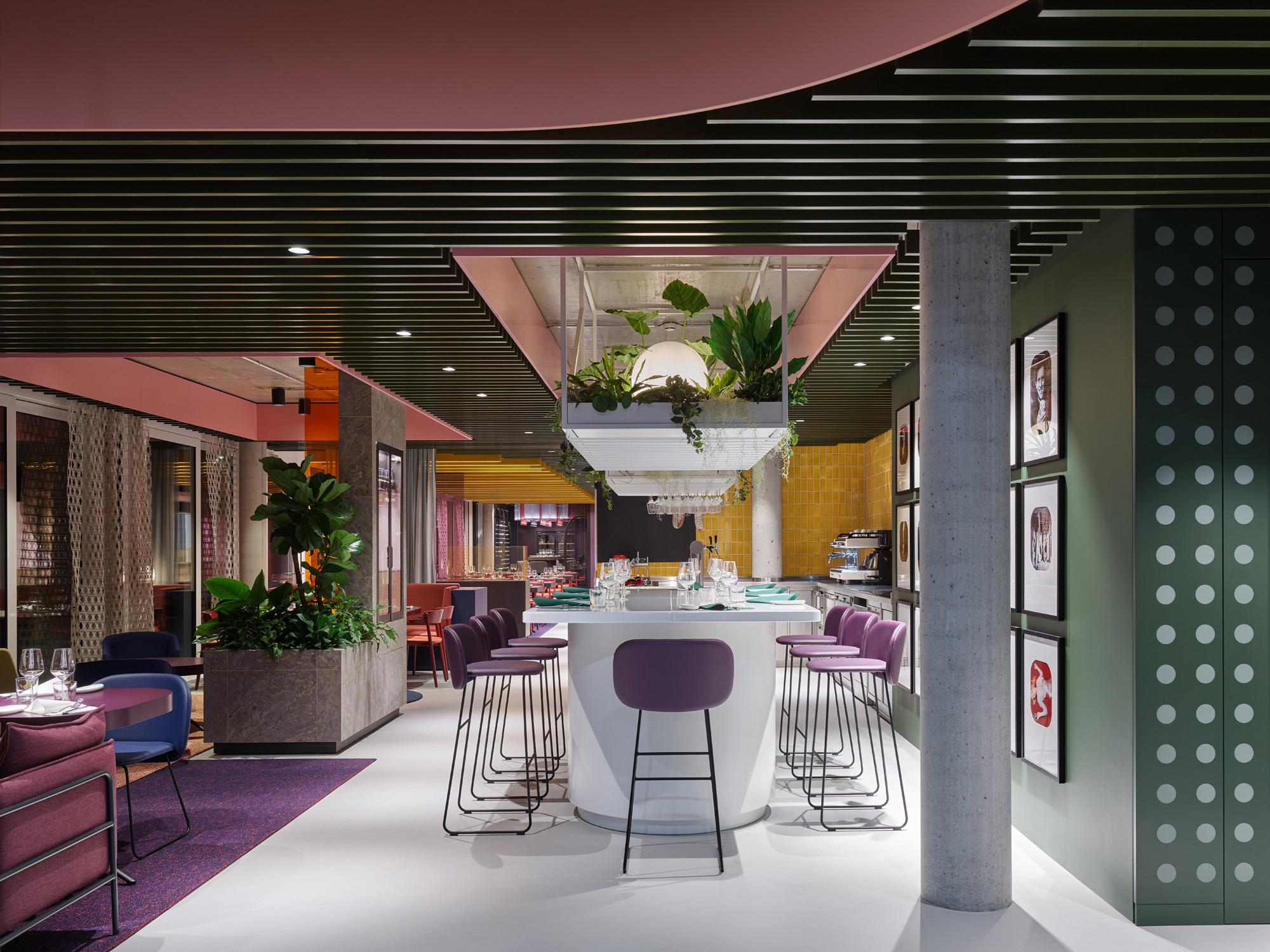 La Visione – Object Carpet Restaurant, Foto: Zooey Braun