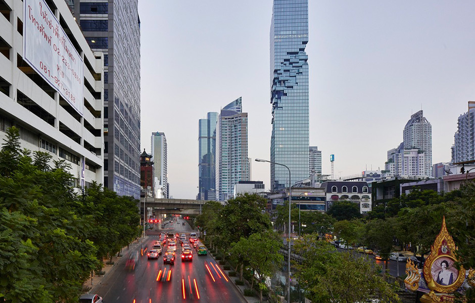 MahaNakhon Tower in Bangkok, © Hufton Crow