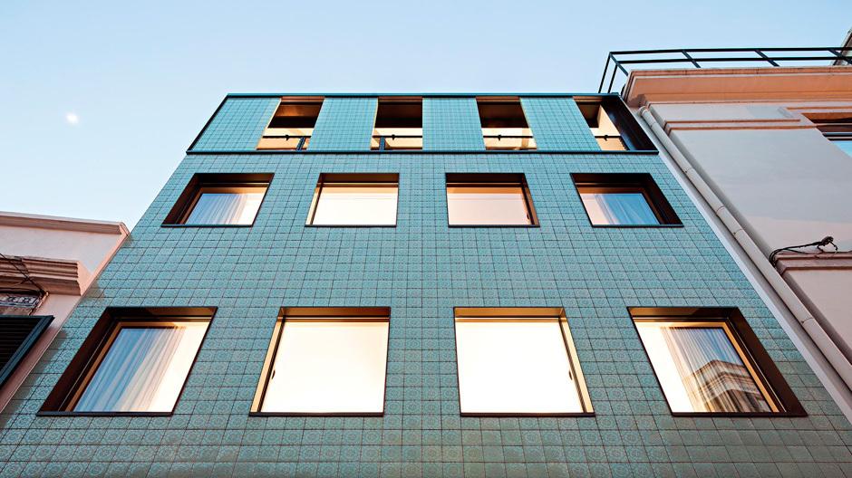 Entstehung des Fassadenmusters