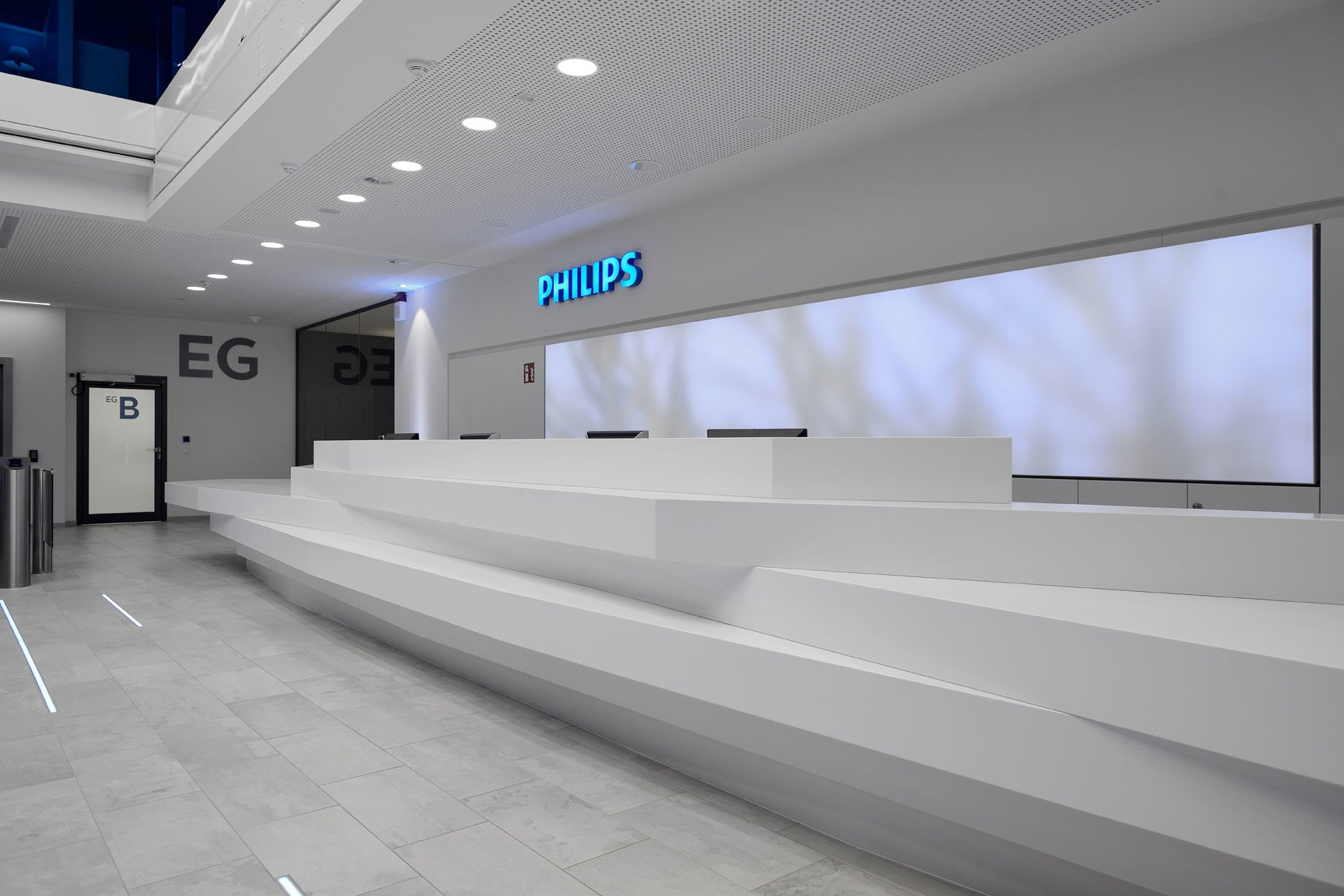 Philips Headquarters, Hamburg, Foto: Karsten Knocke/sbp