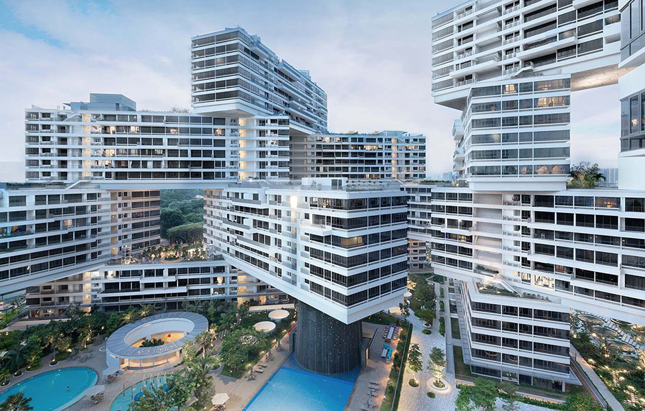 The Interlace in Singapur, OMA und Ole Scheeren, Foto: Iwan Baan