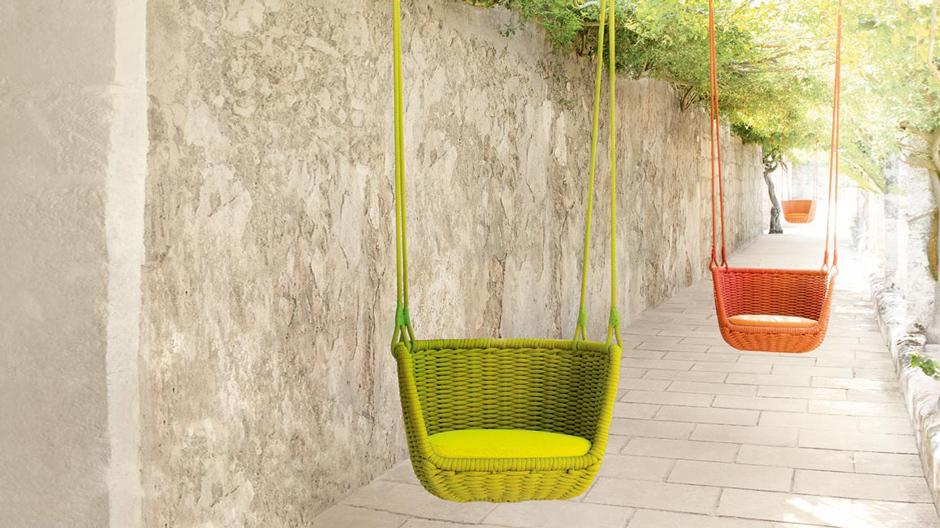 Im Interview spricht der italienische Designer Francesco Rota, wie er mit Möbeln für das Wohnzimmer im Freien einen neuen Markt eroberte. Im Bild: Adagio, Paola Lenti