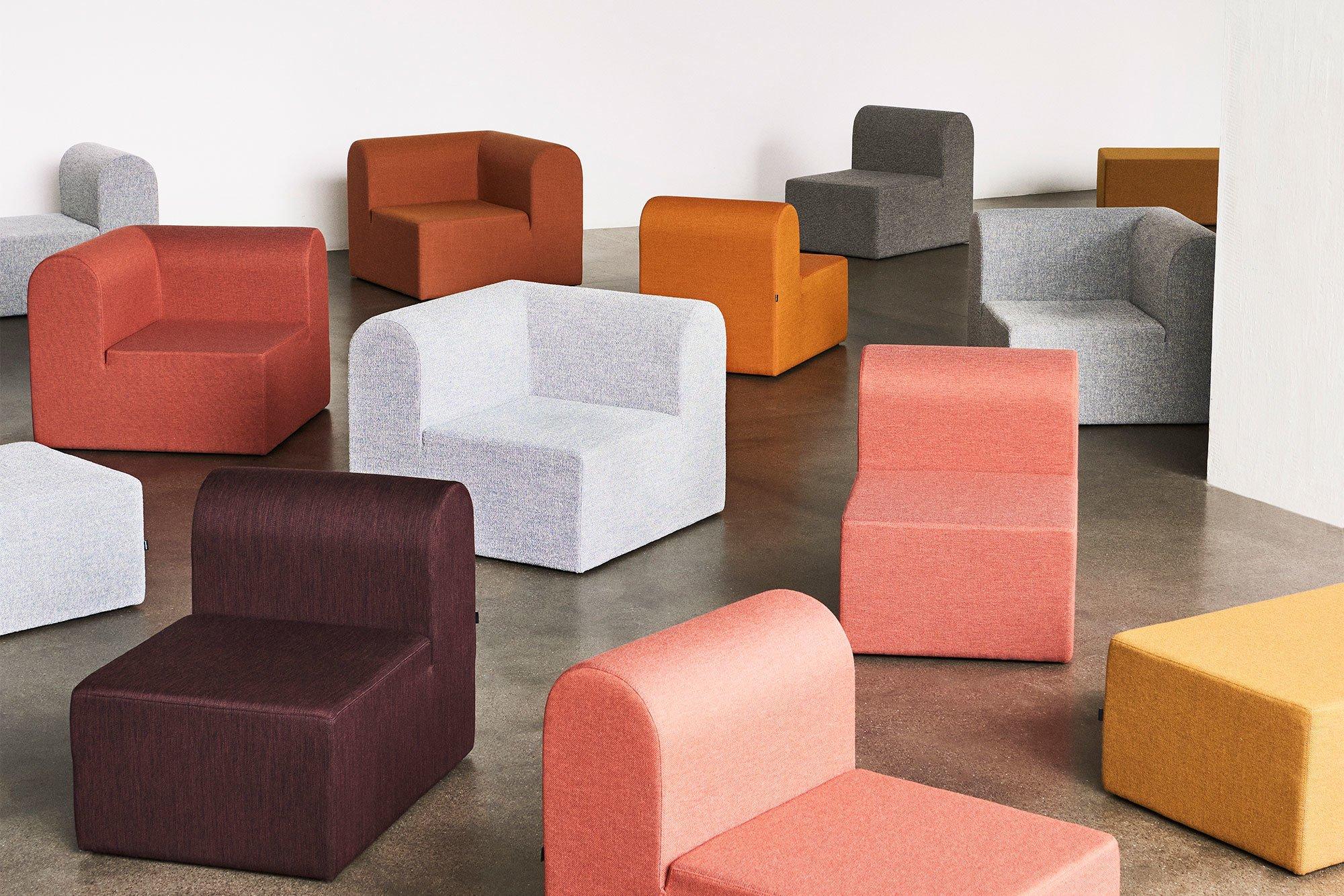 Sofasystem The Paustian Modular Sofa von Erik Rasmussen