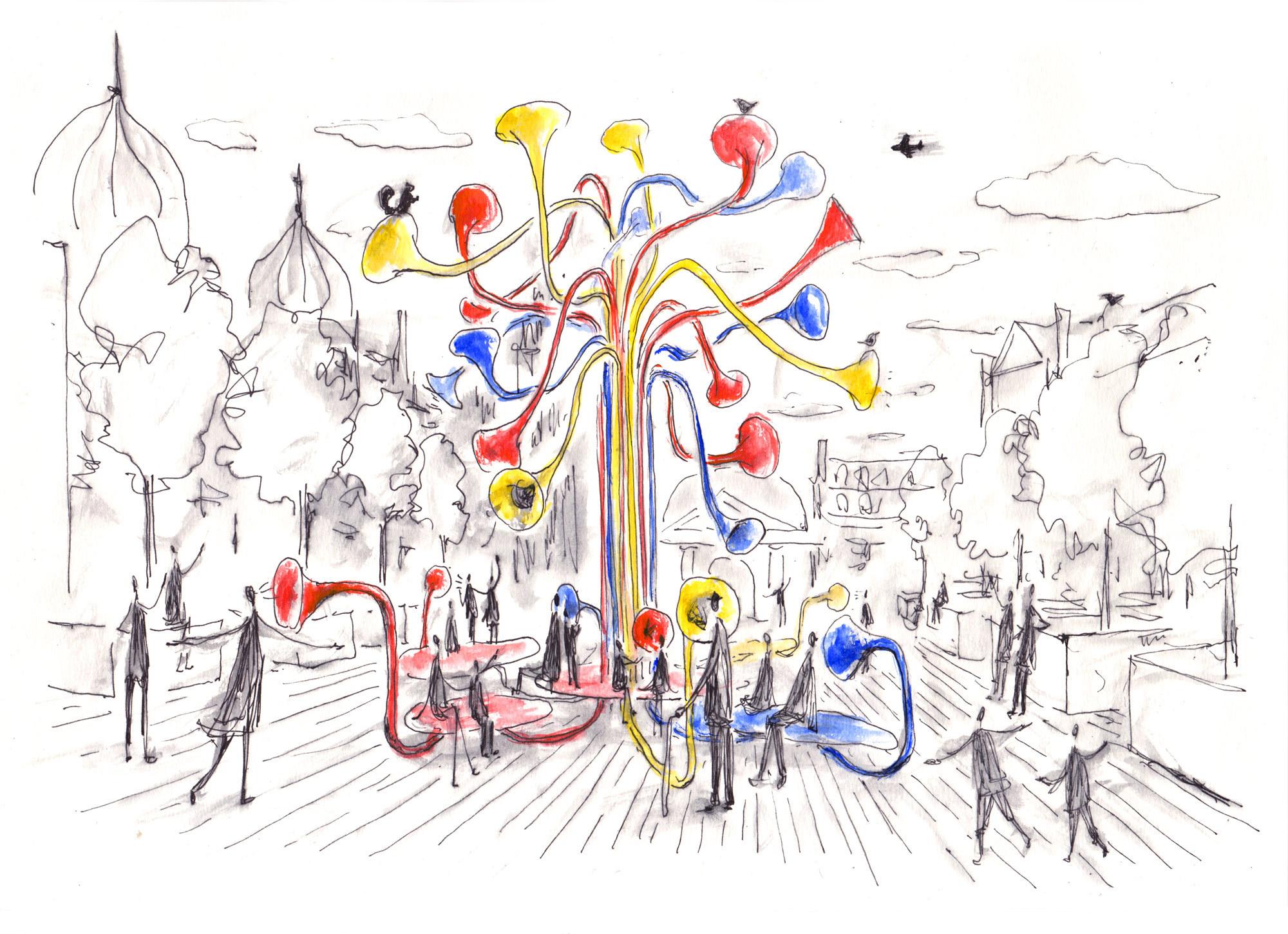 Zeichnungen: Pentagram