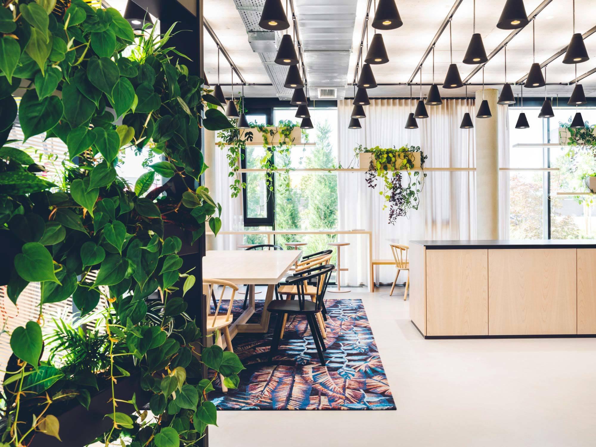 New Working Worlds, Leonhard, 2019, Innenarchitektur: Blocher Partners, Pflanzen: Beiermeister, Foto: Sarah Weiselowski
