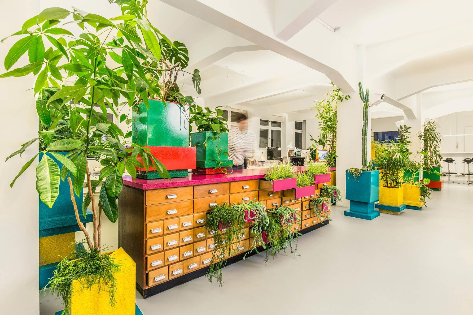 Planta, Designplus, 2015, Foto: Gordon Koelmel