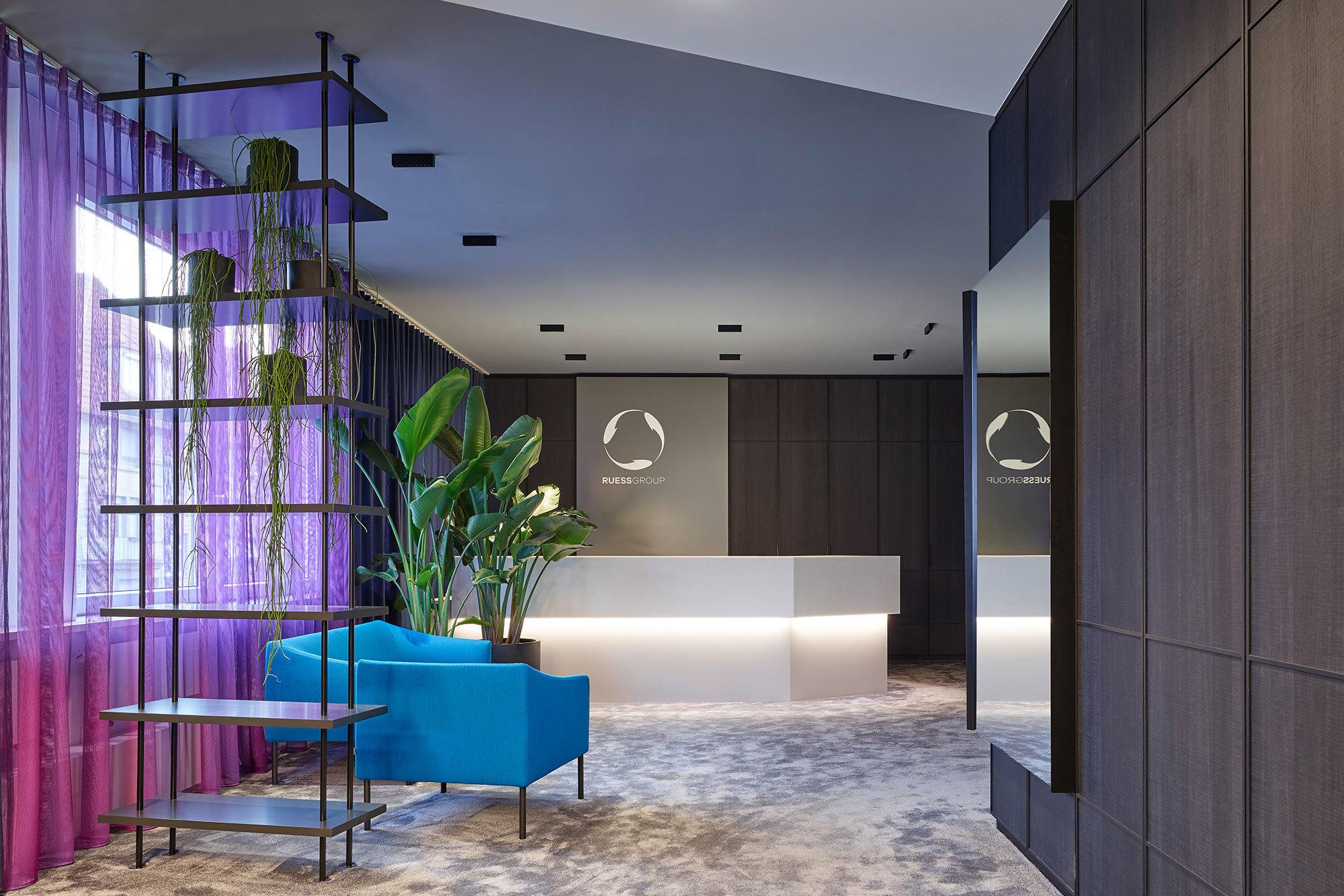 Arbeitswelt – Office Design Ruess Group, Stuttgart, Foto: Zooey Braun