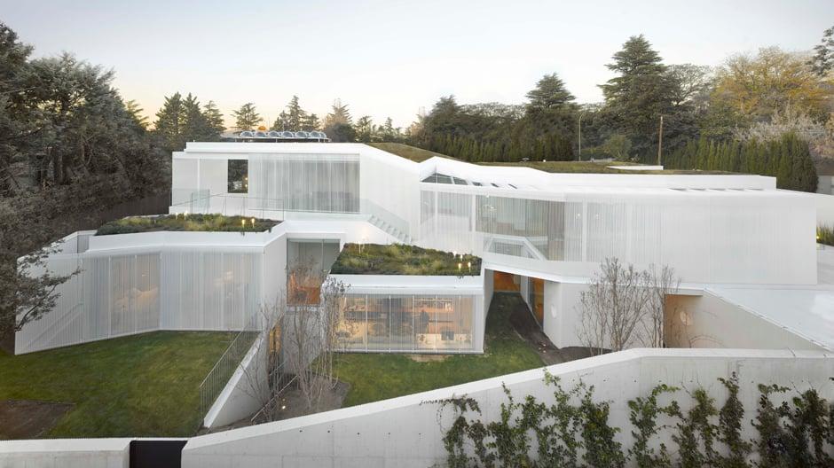 Ansicht Casa 1.130 / Foto: Roland Halbe