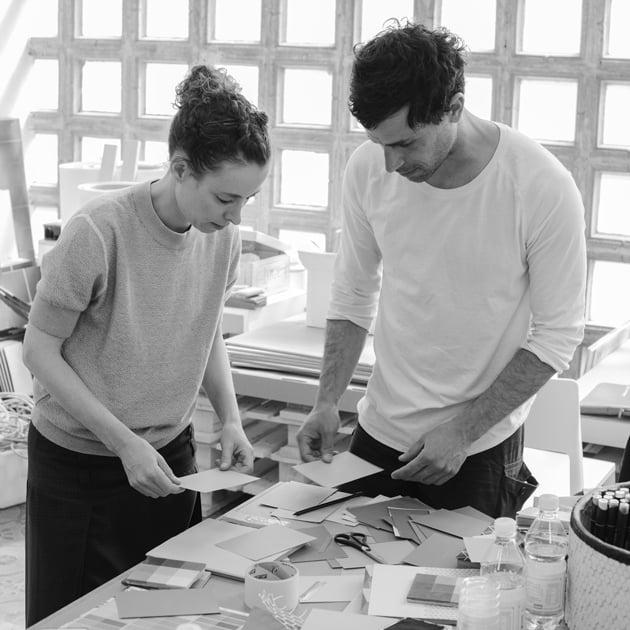 Yael Mer und Shay Alkalay, Foto: Matteo Pastorio / Mutina