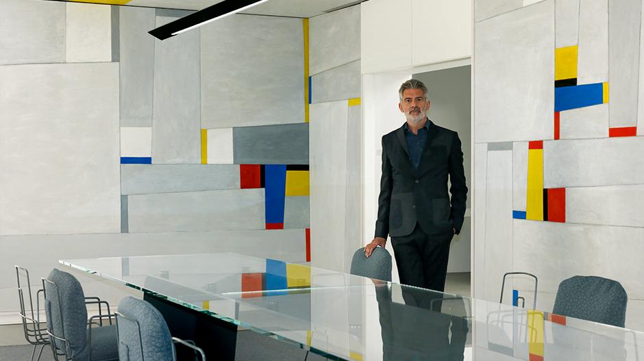 Fritz Glarners Rockefeller Dining Room, Alfredo Häberli, Foto: Stefan Altenburger