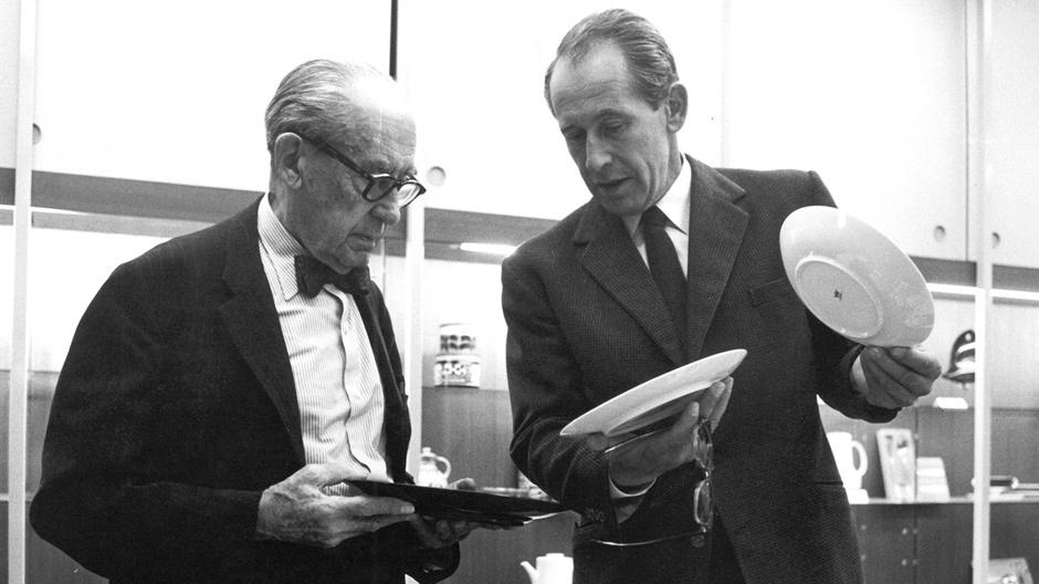Porzellanfreu(n)de: Walter Gropius und Philip Rosenthal
