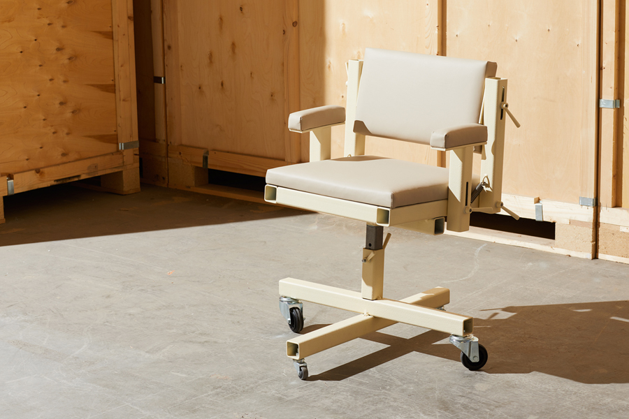 Office Chair aus der Serie Industrial Office für die Galerie Salon 94 Design. © Courtesy of Salon 94 Design