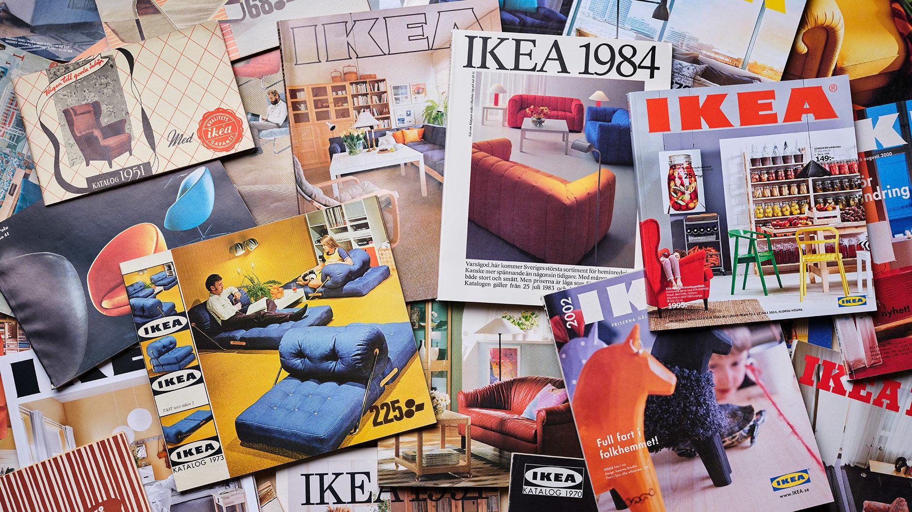 70 Jahre IKEA-Katalog. Auch wenn sie Jahr für Jahr in jedem Briefkasten landeten, hat heute kaum noch jemand ein Archiv. Vom IKEA Museum wurden alle Ausgaben jetzt digitalisiert.