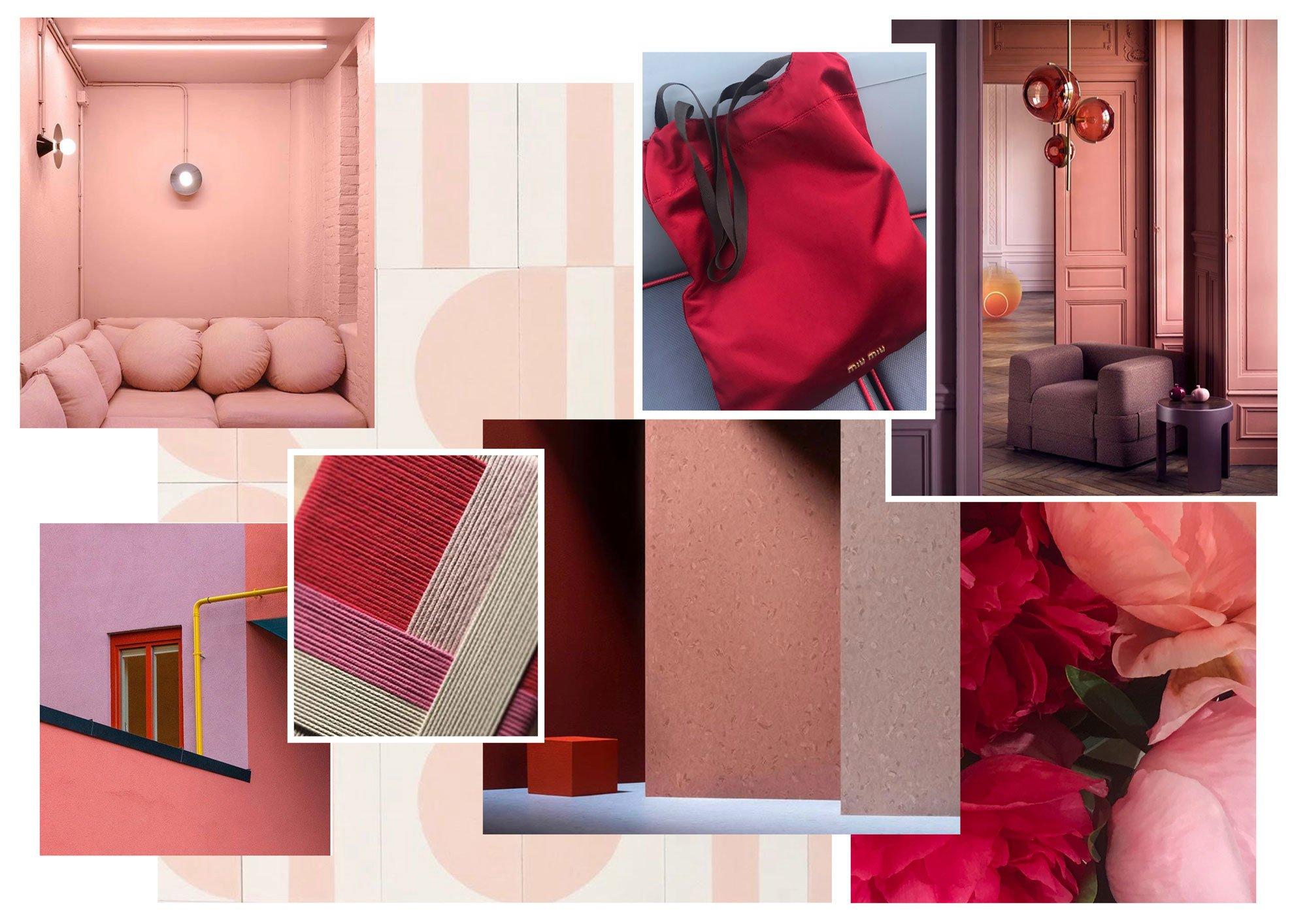 Schönbuch Colour Concept 2021: Moodboard Love & Warmth