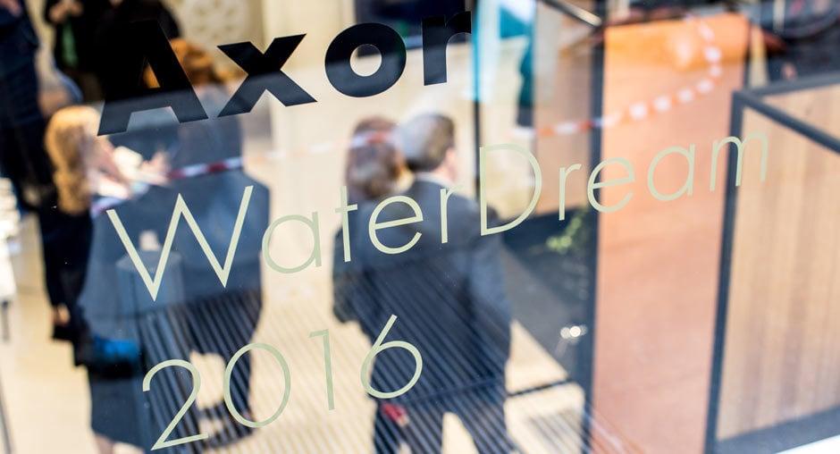 Milano 2016: Besucher & Designer im Axor-Showroom