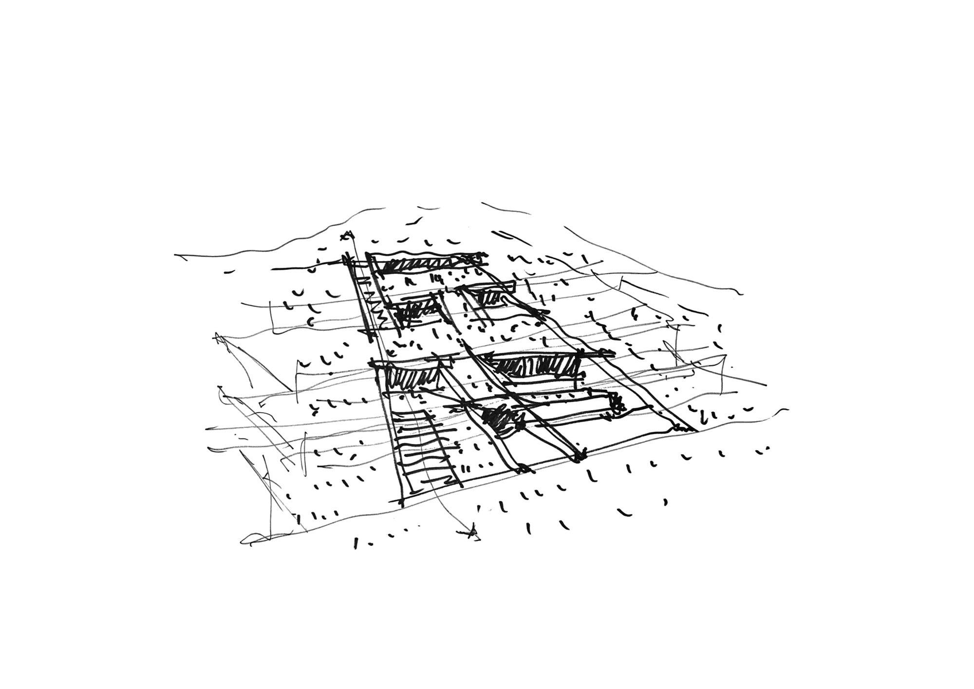 SkizzePerspektive © Mold Architects