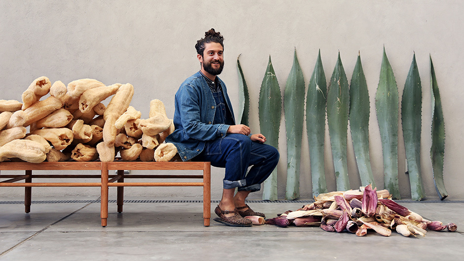 Totomoxtle ist ein innovatives Furniermaterial von Fernando Laposse.