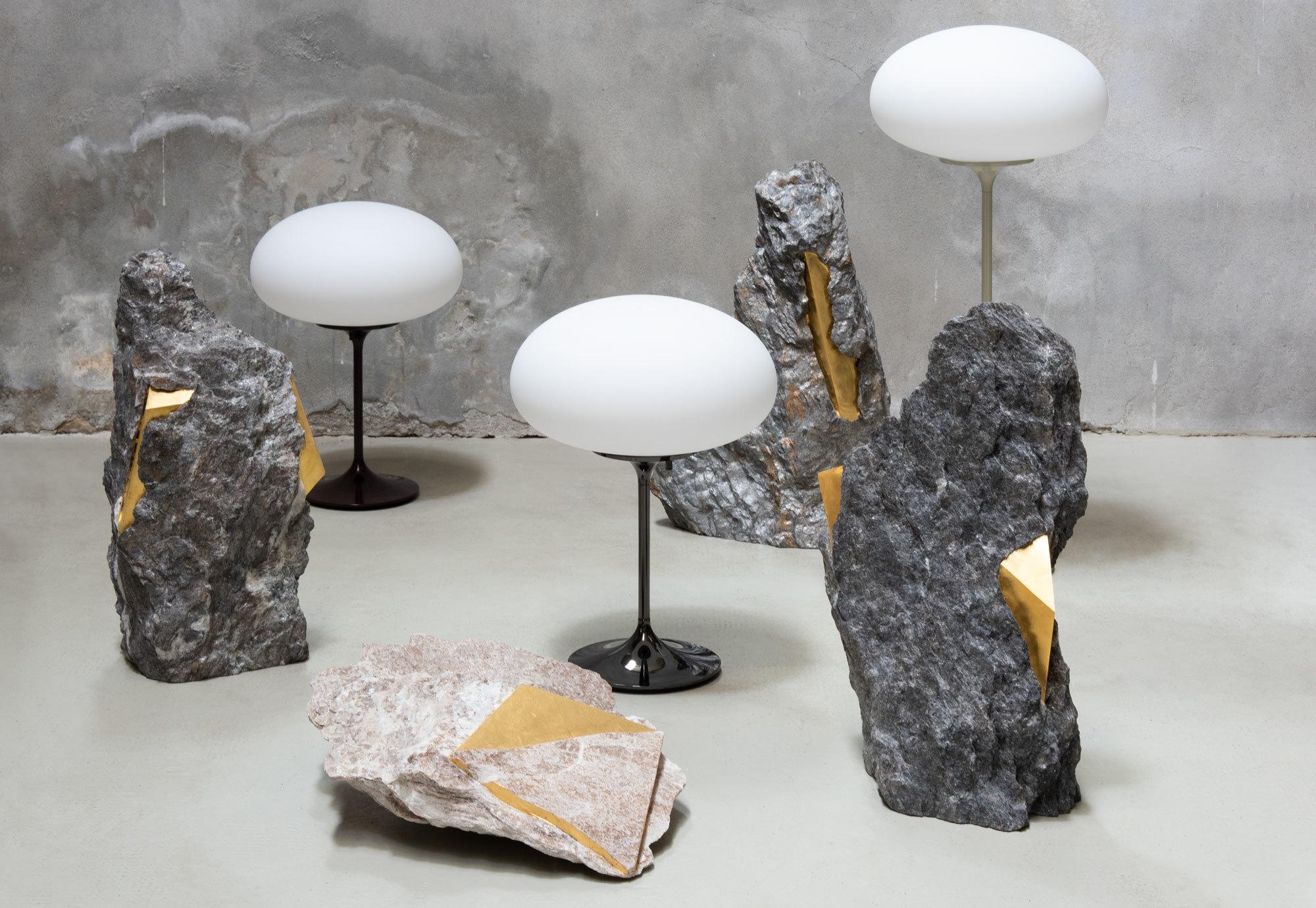 Die LeuchteStemlite de amerikanischen Designers Bill Curry von 1962 passte zur Aufbruchstimmung des Space Age. Foto: Gubi
