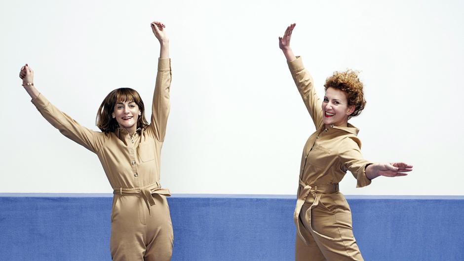 Arianna Lelli Mami (l.) und Chiara Di Pinto (r.) von Studipepe, Foto: Andrea Ferrari