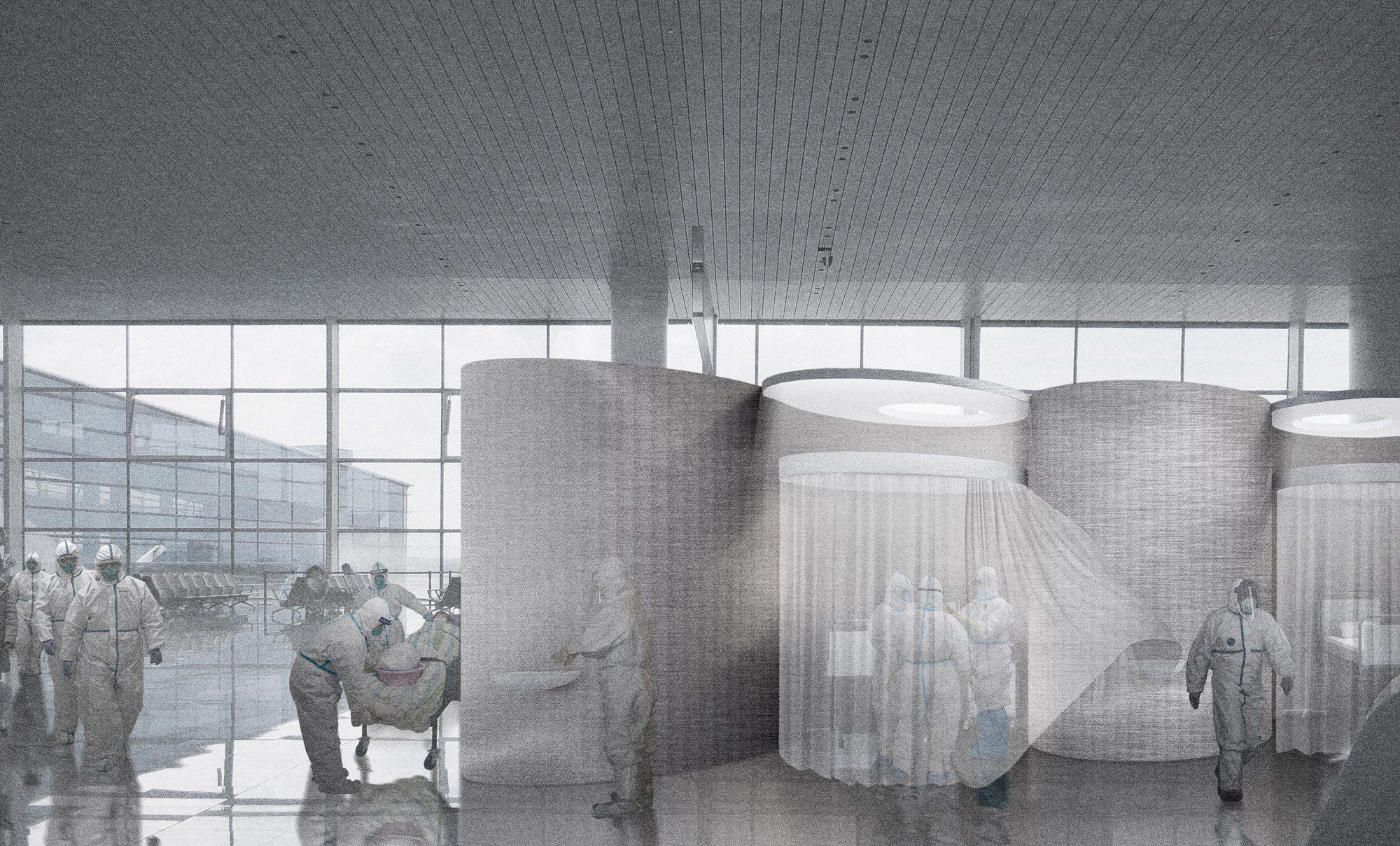 Superhospital BER, Visualisierung: Opposite Office