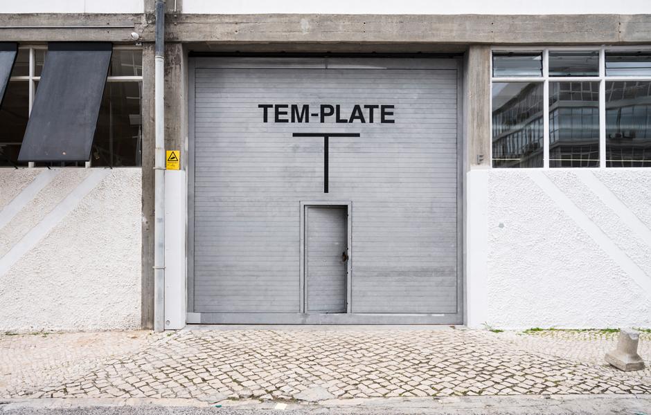 Eingangtor zum experimentellsten Concept-Store Lissabons.