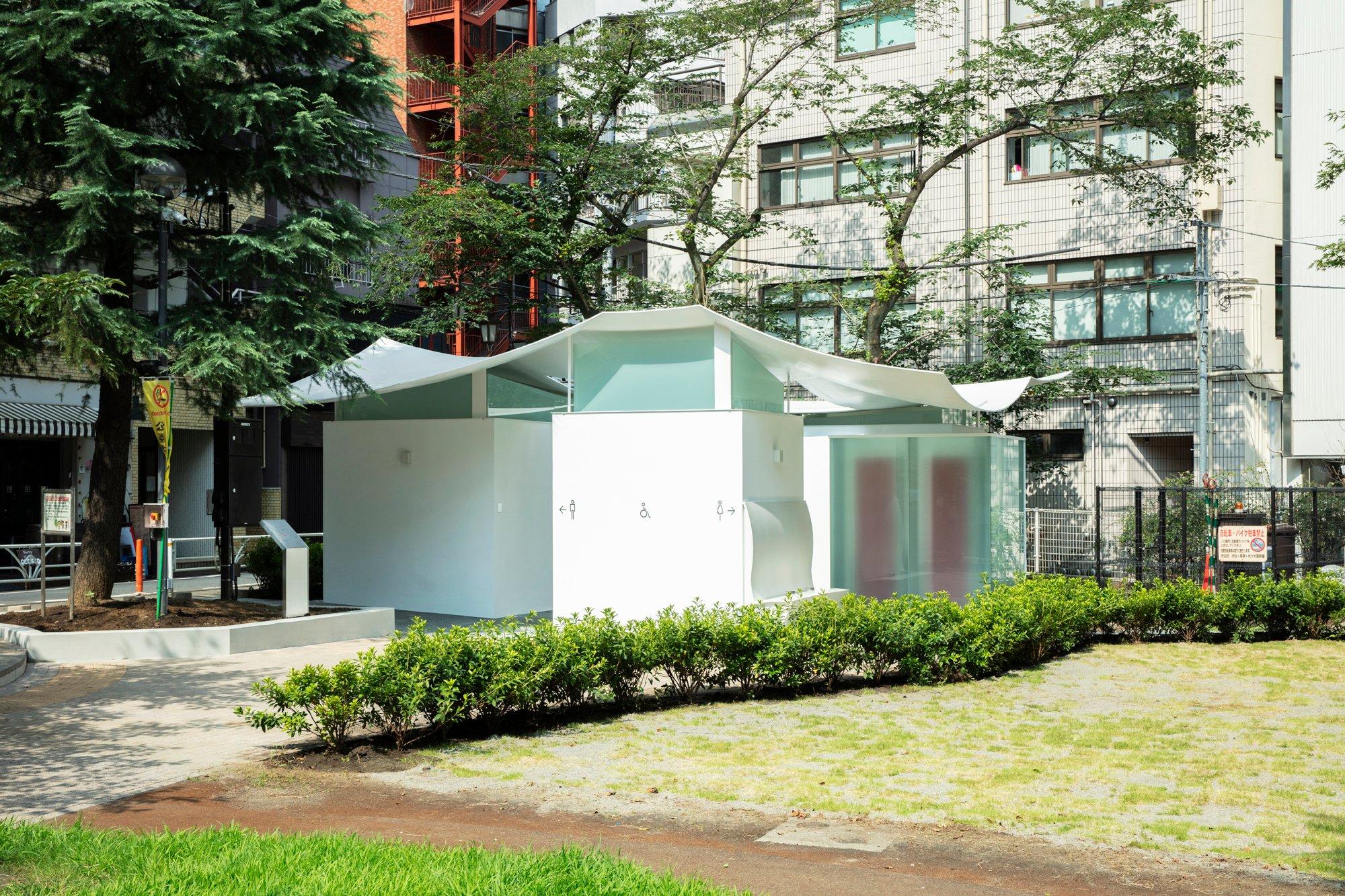 The Tokyo ToiletimEbisu East Parkvon Fumihiko Maki.Foto: Satoshi Nagare / The Nippon Foundation