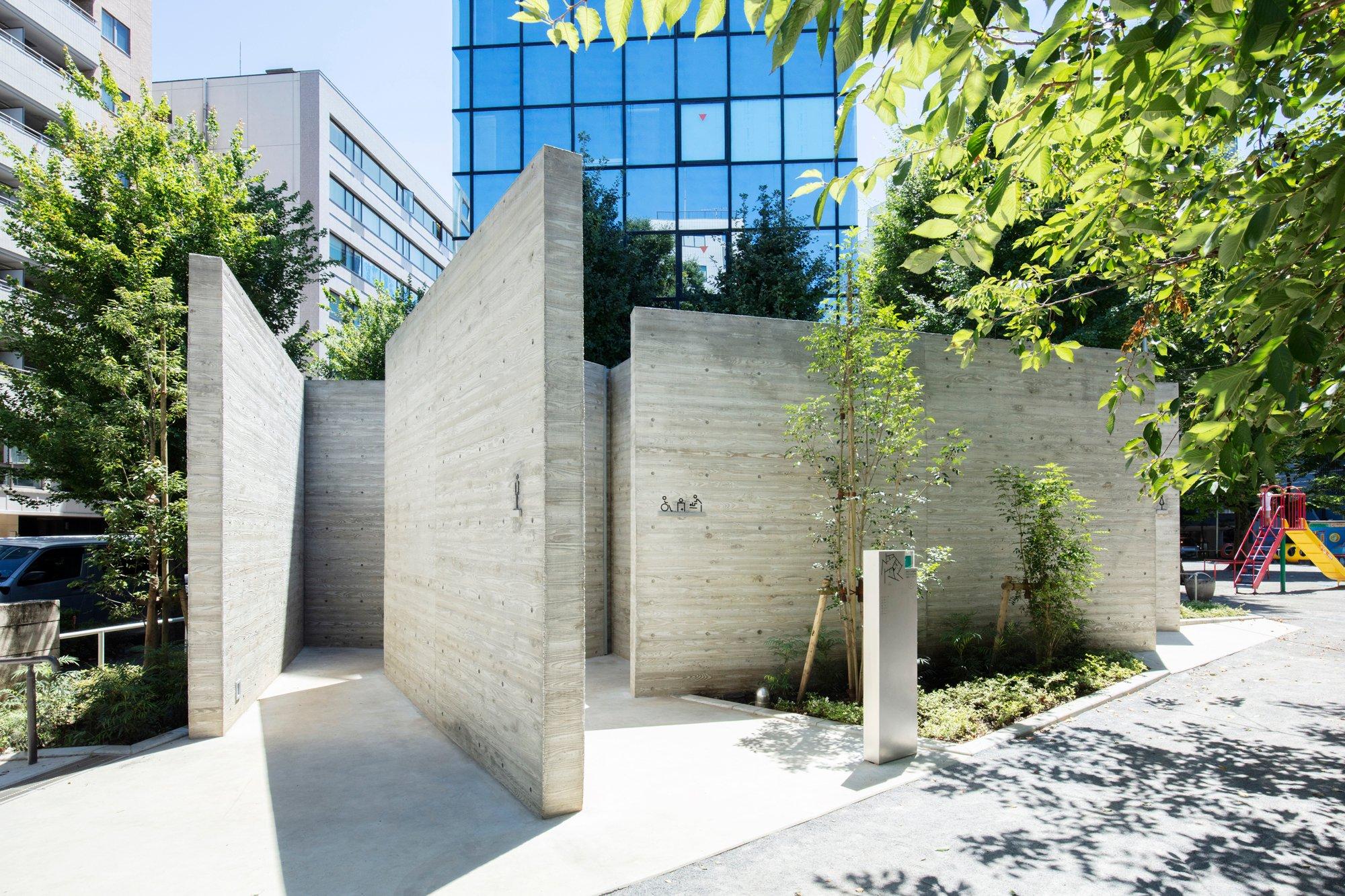 The Tokyo Toiletim Ebisu Park von Masamichi Katayama und seinem Büro Wonderwall. Foto: Satoshi Nagare / The Nippon Foundation
