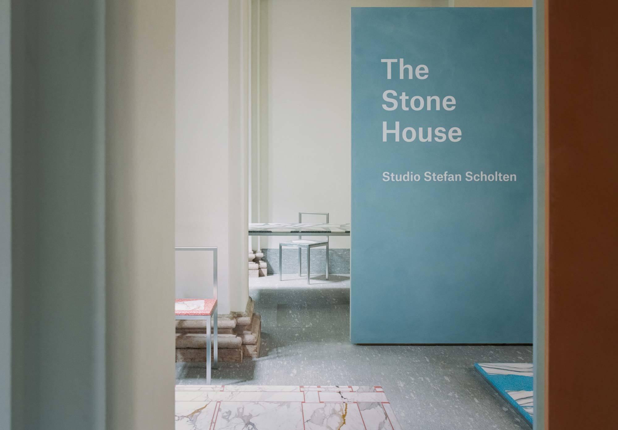 The Stone House von Stefan Scholten im Palazzo Turati, Foto: Simone Bossi