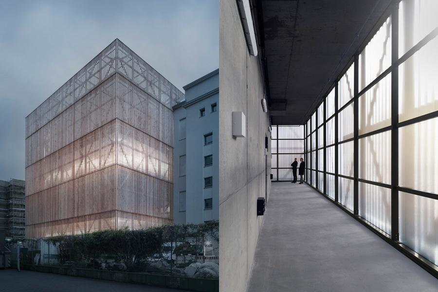 Foto links: Schnepp Renou; Foto rechts: Manfred Ortner.