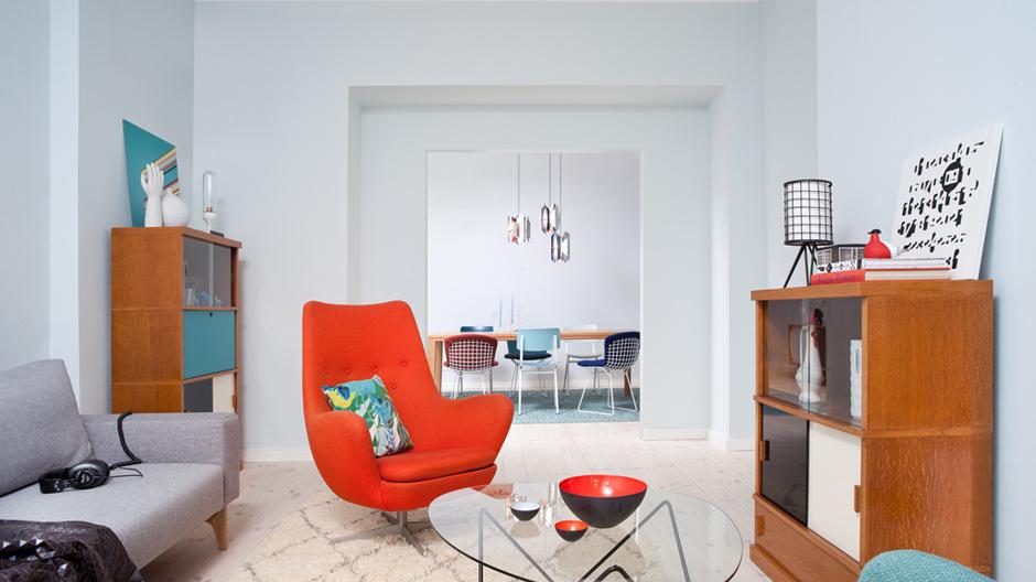 Wohn-und Besprechungszimmer, Foto: ©Vintagency