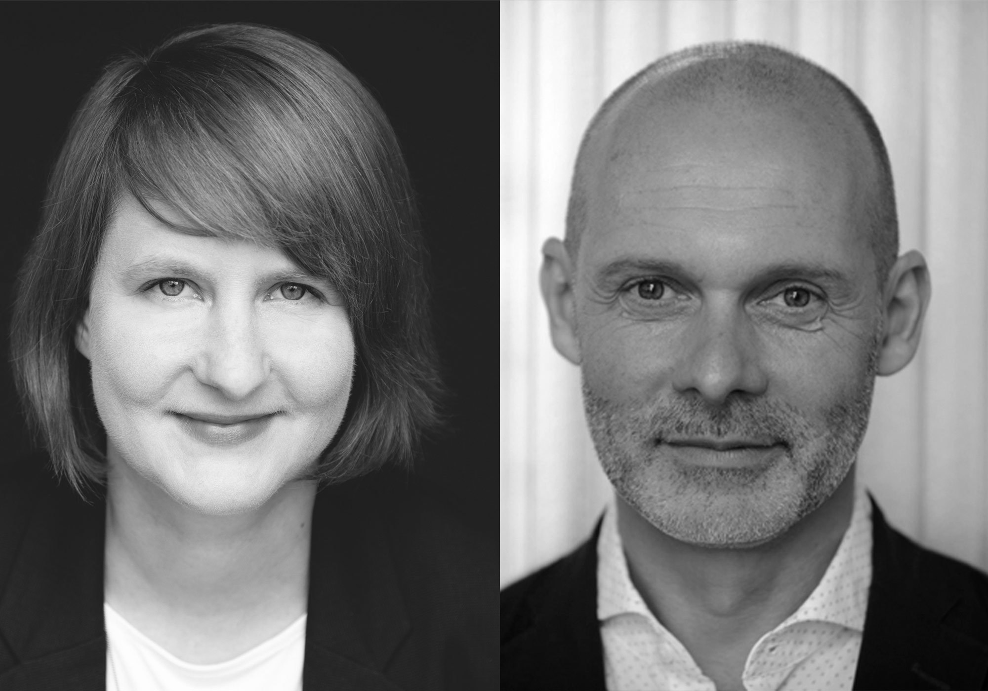 Anna Tscherch und Carsten Wiewiorra