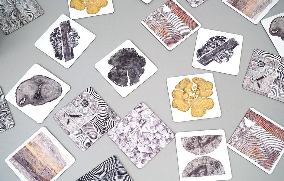 Bryan Nash Gill - Woodcut Memory Game