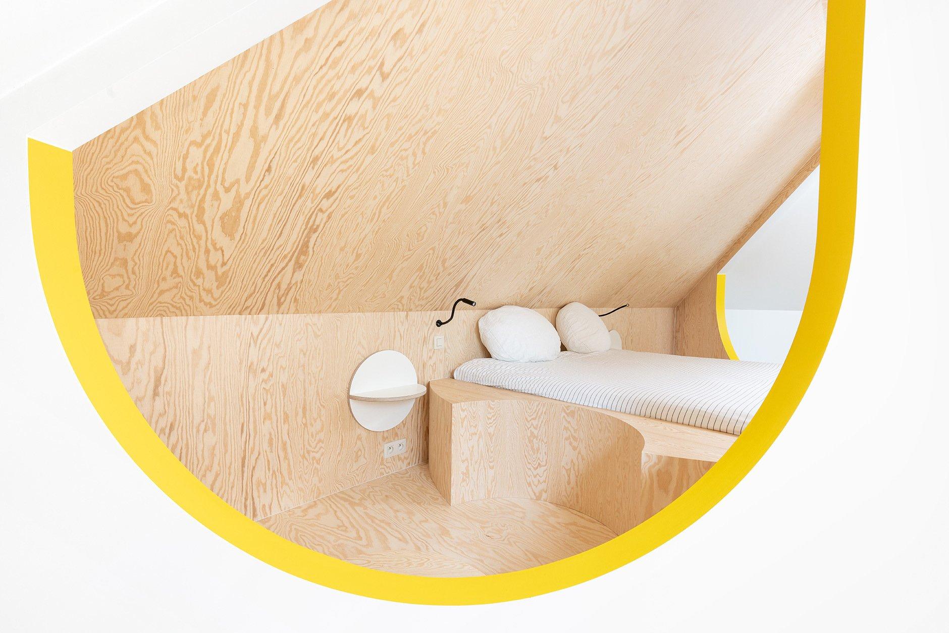 Projekt B&B, Umbau eines Dachgeschosses. © Jochen Verghote