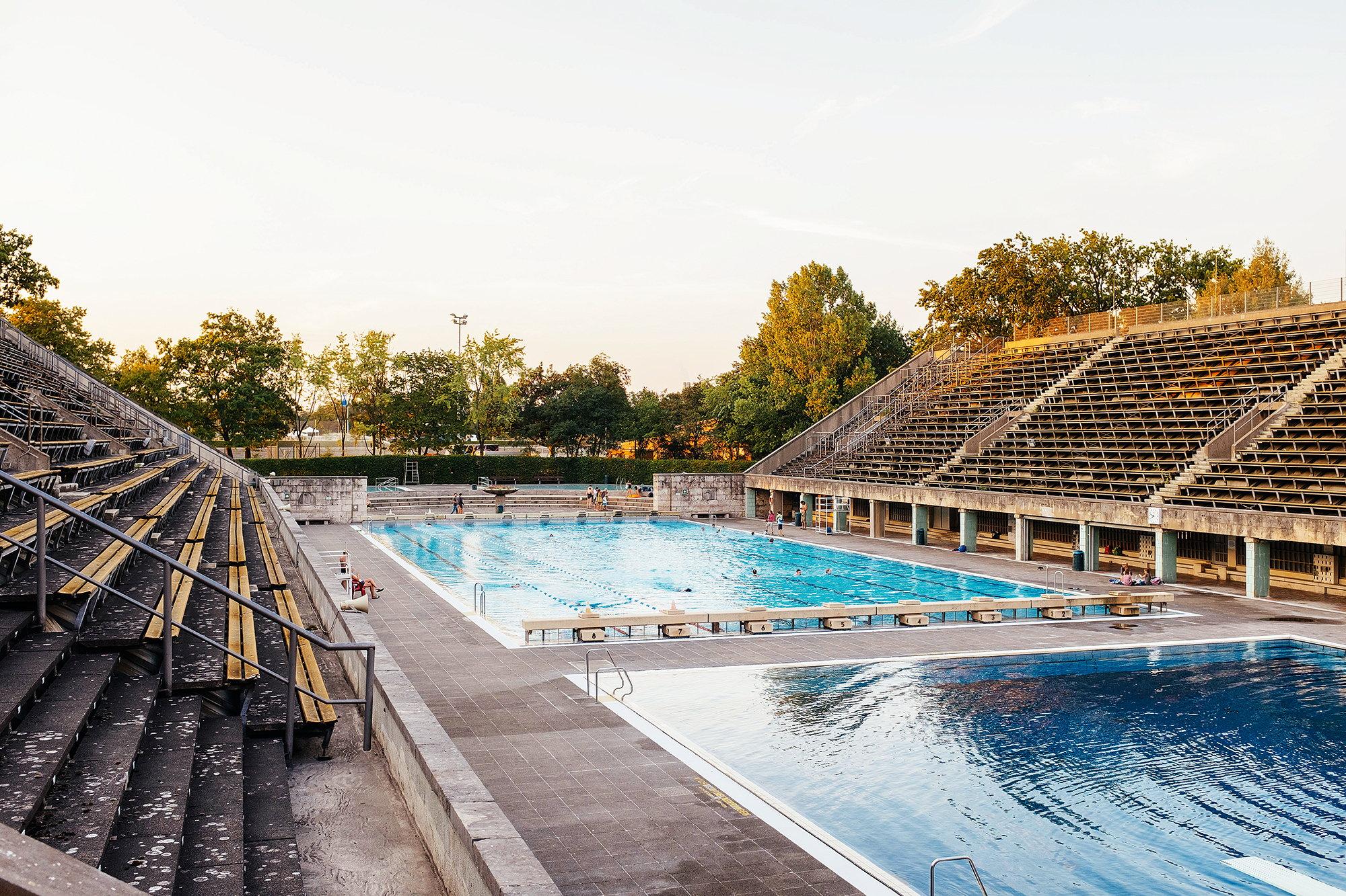 OLYMPIA SCHWIMMSTADION, Berlin, Foto: Alexander Rentsch