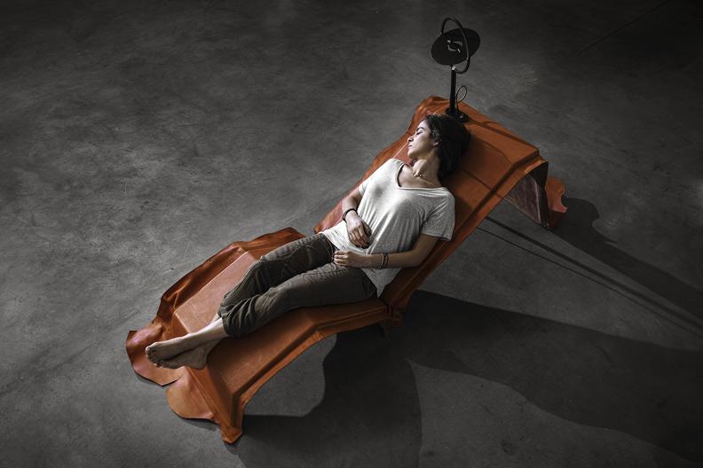 Lounge Chairvon Marc Baroud, courtesy Joy Mardini Design Gallery, Beirut