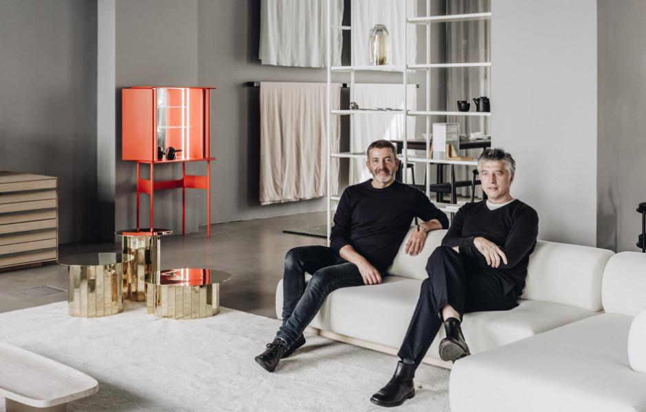 Christian Haas und Andreas Murkudis, Foto: Ana Santl