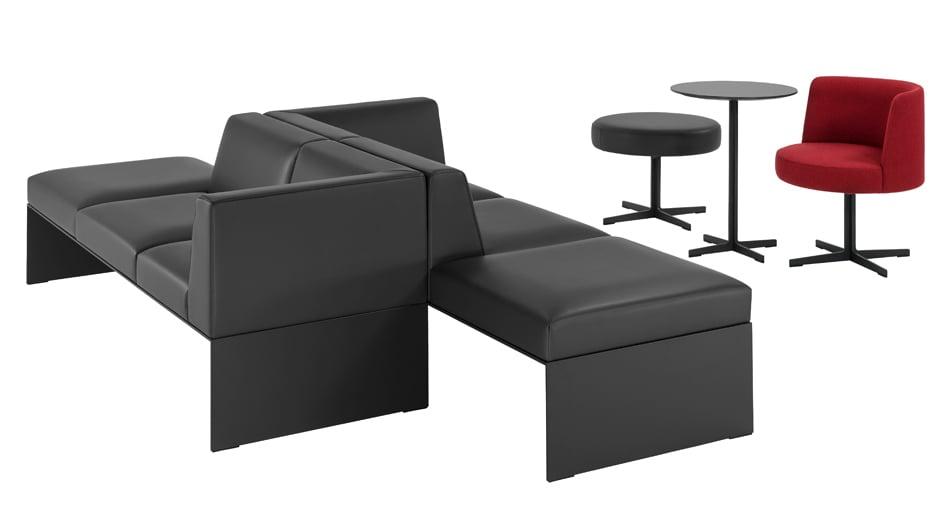Loungesystem der Serie banc