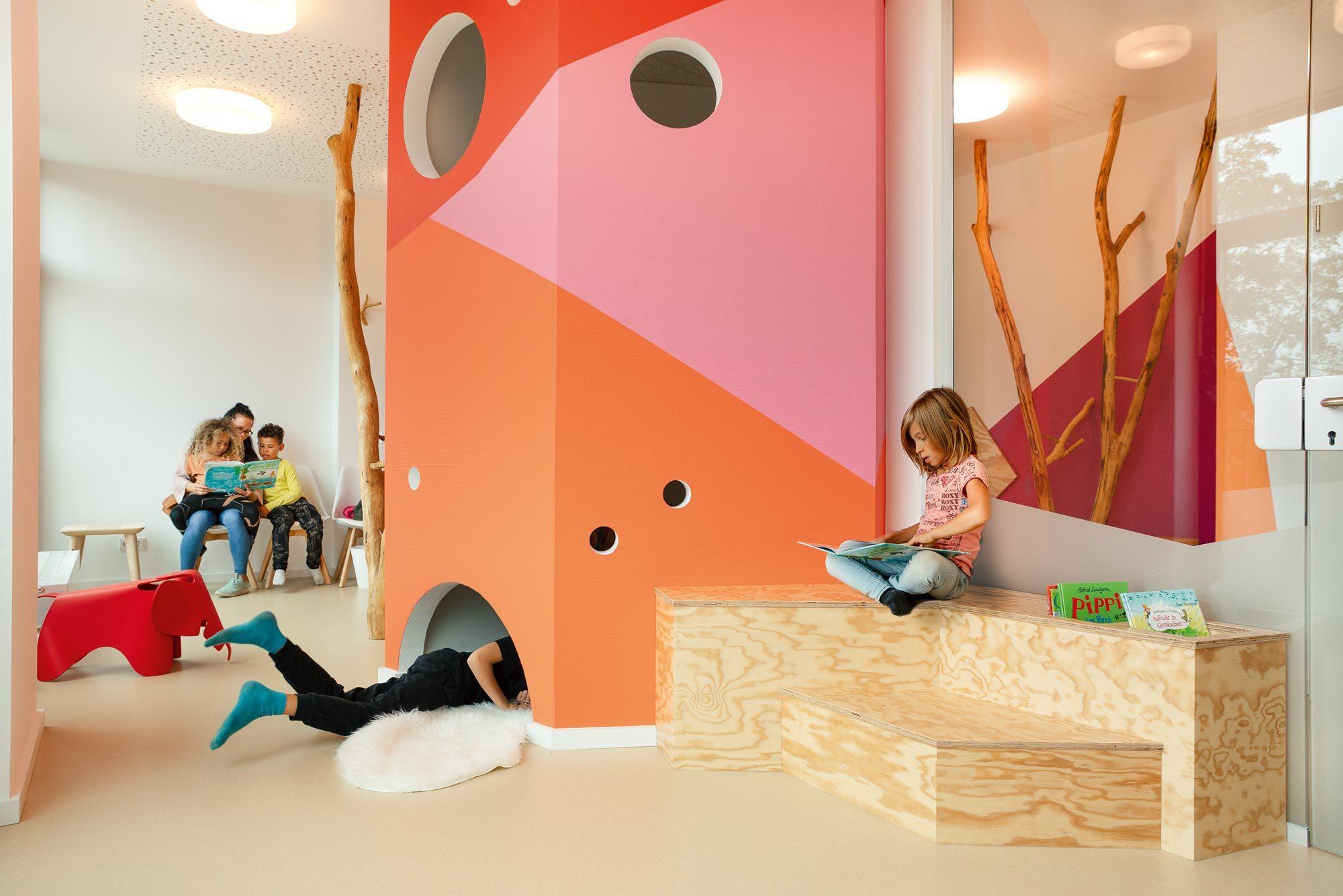 Praxis Kinderlieb, baukind, Hamburg, Foto: HEJM Fotografie/ Philipp Langenheim und Corina Schadendorf